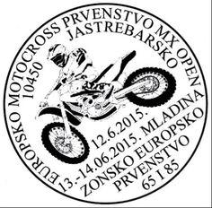 Sonderstempel Kroatien Motocross
