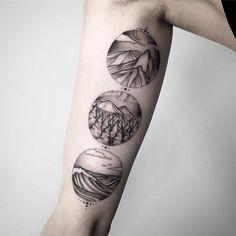 #tattoo #tattooart #art #artist #artwork #linework #lines #dots #dotwork #graphic #biome #nature #foresttattoo #ocean #mountains #circle #blackworkerssubmission #blxckink #siberia #russia #instablack #sticksandbonestomsk