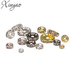 [!!] การเปรยบเทยบราคา XINYAO 50pcs Gold Silver Color Loose...