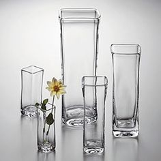 Heather Smith & Marty Burch ~September 21, 2013~ Simon Pearce Woodbury Vases.  Hand blown in Vermont. ShopMFT.com
