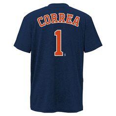 63c628dc845 Houston Astros Boys  Carlos Correa T-Shirt Jersey XL