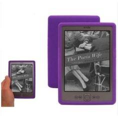 Purple Kindle Silicone Skin Case for Amazon Kindle 4 (Electronics)  http://www.amazon.com/dp/B006C0PXLS/?tag=goandtalk-20  B006C0PXLS