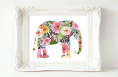 Printable Wall Art, Elephant printable art, Baby Girl Nursery decor, Nursery art, Baby Girl Elephant Nursery Print, love quote by GracieLouPrintables on Etsy https://www.etsy.com/listing/252387568/printable-wall-art-elephant-printable