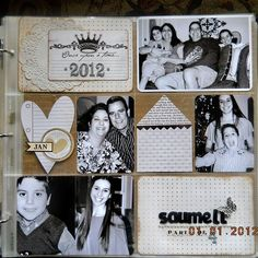 A Project by Elizabeth*S* from our Scrapbooking Gallery originally submitted 01/03/12 at 09:08 AM