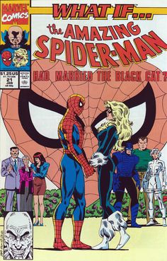 Peter and MJ wedding What If? issue.