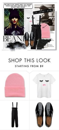 Bad-Messy-girl by hacii on Polyvore featuring moda, Jean-Paul Gaultier, FitFlop, Vanity Fair, messy, beanies, beoriginal, beiconic and badgir