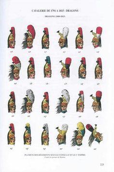 Copricapi dei dragoni francesi