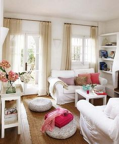 cottage+white+interior+decorating | Cottage Decorated in White Style - Luxury Homes, Architects, Interior ...