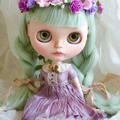 I love her so much   #mapoupeecherie #blythe #doll #blythecustom #dollstagram #instadoll