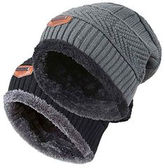 e36fdc2377f New HINDAWI Winter Hats for Women Men Slouchy Beanie Skull Caps Warm Snow Ski  Knit Hat