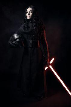 Fem Kylo Ren cosplay by Mistress of Fear