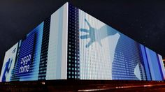 Ziggo Dome LED facade designs