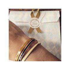 Bracelet jonc semi-ouvert BANGLE UP jaune