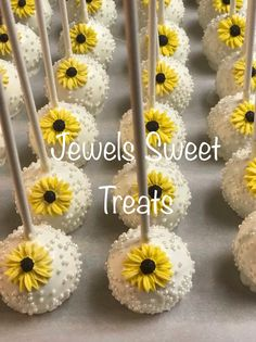 The Worst Advices Weve Heard For Sunflower Birthday Cake Sunflower Wedding Favors, Sunflower Party, Sunflower Baby Showers, Chocolate Covered Marshmallows, Chocolate Covered Strawberries, Chocolate Lollipops, Chocolate Cake, Birthday Cake Pops, Birthday Favors