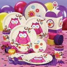 Adorable owl theme