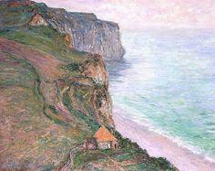 Le Val d'Antifer (C Monet - W 1039),1885.