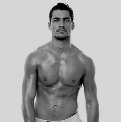 David Gandy. Because oiled is sexy, and I am obsessed with this beautiful man.