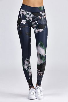 The Upside Dark Lily Yoga Pant