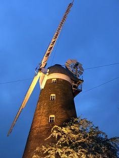 a windmill near Stansted, London, UK - Annabel x Windmills, Golden Gate Bridge, Sicily, Places To Visit, London, Travel, Viajes, Wind Mills, Windmill