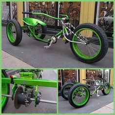 Tricycle Bike, Trike Bicycle, Cruiser Bicycle, Cargo Bike, Gas Powered Bicycle, Electric Bicycle, Cool Bicycles, Cool Bikes, Motorcycle Towing