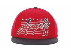 New Era MLB Los Angeles Anaheim Snapback Hats Caps Red 3573! Only $7.90USD