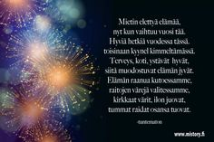 Finnish Words, Number Meanings, Happy New Year, Meant To Be, Quotes, Google, Quotations, Happy New Year Wishes, Quote