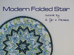 Modern Folded Star Mini