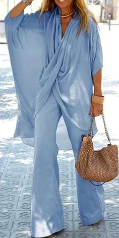 Love This! Suit Fashion, Boho Fashion, Womens Fashion, Fashion Trends, Mode Outfits, Chic Outfits, Fashion Outfits, Elegant Summer Outfits, Beautiful Outfits
