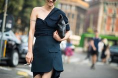 Milan Fashion Week Spring 2014 Street Style - Milan Fashion Week Spring 2014 Street Style, Day 4