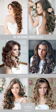 Wedding hairstyle variations #wedding #weddinghair