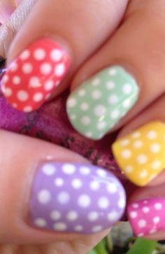Fun DYI Easter Nail Art Ideas: Bunnies, Pastels & Eggs | FashionBased | Fashion Based