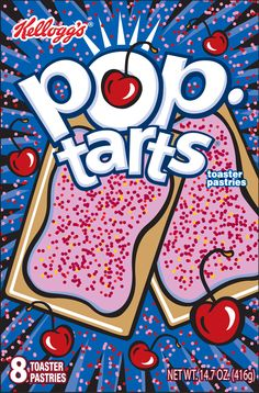 Cherry Pop Tarts
