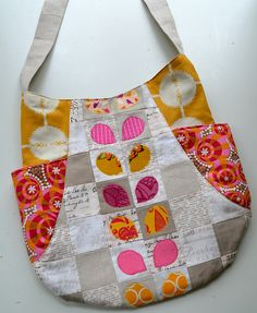 a patchwork 241 tote