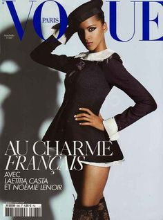 When Noémie Lenoir sizzled on the cover of Vogue Paris.