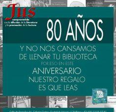 Editorial Jus, celebra sus 80 años Sucedió en los albores del año 1938, aunque otras fuentes indican que el proyecto inició años antes. En principio, lo que más tarde se convertiría en editorial, surgió como la […]  Leer más en: http://justa.com.mx/revista/editorial-jus-celebra-sus-80-anos/