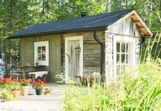Modern Saunas, Finnish Sauna, House Goals, House Doctor, Boho Decor, Gazebo, Shed, Cottage, Outdoor Structures