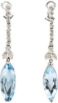 ALL ABOUT HONEYMOONS & DESTINATION WEDDINGS   Join our Facebook page!  https://www.facebook.com/AAHsf  Topaz Diamond Earrings