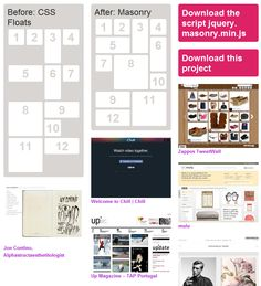 The magic JQuery plugin that gives you a Pinterest-like layout.