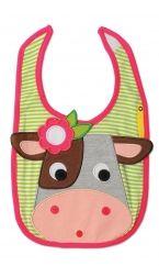 Collette the Cow Bib