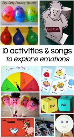 Exploring emotions with young children