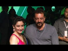 Sanjay Dutt with his wife Manyata Dutt at Lakme Fashion Week 2016.