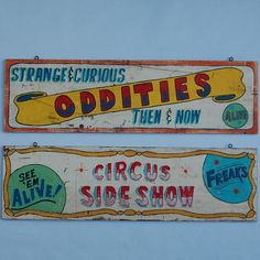 freak show carnival - Google Search