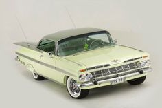 An immaculate 1959 Chev Impala is confirmed to be on show
