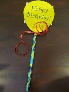 Classroom Birthday Idea