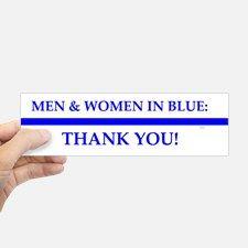 Police Lives Matter, Bumper Bumper Sticker for