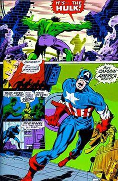 Jim Steranko's vision of Captain America, late '60s.