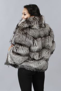 Shop Furs :: Jackets :: RUSSIAN SILVER FOX JACKET - Fur coats, Fur Accessories, Fur Animals by Morris Kaye