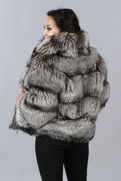 Shop Furs :: Jackets :: RUSSIAN SILVER FOX JACKET - Fur coats, Fur Accessories, Fur Animals by Morris Kaye