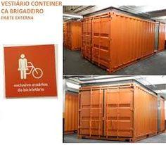 Resultado de imagem para container bicicletario