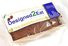 The Banana Bread – Designed2Eat Ltd